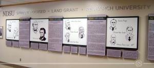 NDSU Wall Display