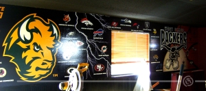 Packers-Bison Wall