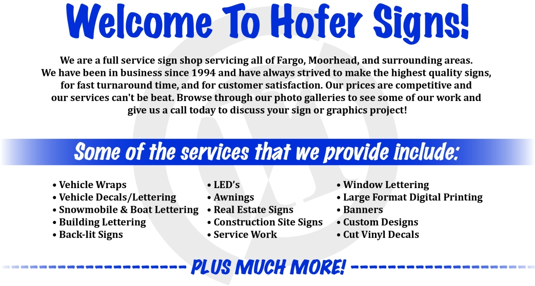 Welcome Page Layout
